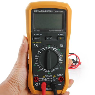 Фотография HYELEC MS85 Multifunctional Digital Voltmeter / Ammeter / Ohmmeter / Capacitance and Frequency Meter