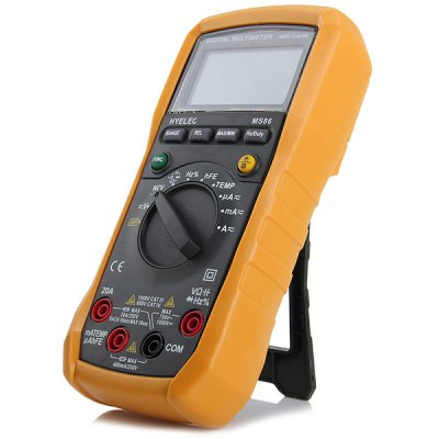 HYELEC MS86 Multifunctional Digital Voltmeter / Ammeter / Ohmmeter / Thermometer / C meter and Duty Cycle Tester