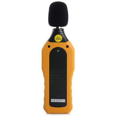 HYELEC MS6708 Handheld Digtal Sound Level Meter Noise Detector LCD Display with 4 x AAA Battery