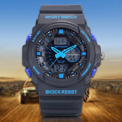 Sanda 241 Outdoor Sports LED Watch