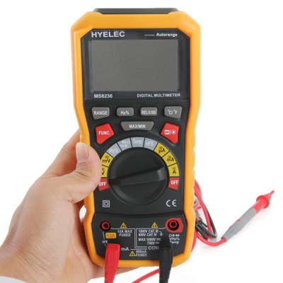 ФОТО HYELEC MS8236 Multifunctional Digital Multimeter with T  -  RMS / USB Voltmeter / Ammeter / Ohmmeter / C meter etc.