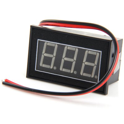 V56D 0.56 inch 3 Digit LED Digital Voltmeter Module Water Resistant for DIY Projects ( DC 3 - 30V )