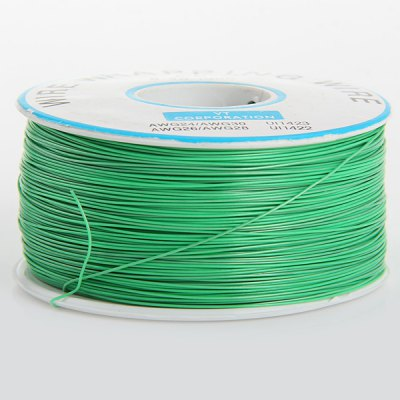 PCB Copper Core Single Conductor Coil Jumper Cable for DIY  -  Green ( 250M )Other Accessories<br>PCB Copper Core Single Conductor Coil Jumper Cable for DIY  -  Green ( 250M )<br><br>Material: Plastic + Copper<br>Product Weight: 0.199 kg<br>Package Weight: 0.250 kg<br>Product Size(L x W x H): 6.6 x 6.6 x 3.7 cm / 2.59 x 2.59 x 1.45 inches<br>Package Size(L x W x H): 8.0 x 8.0 x 5.0 cm / 3.14 x 3.14 x 1.97 inches<br>Package Contents: DIY Green PCB Copper Core Jumper Cable