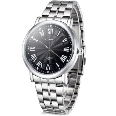 Longbo 8824 Male Imported Japan Quartz Watch with Alloy Body