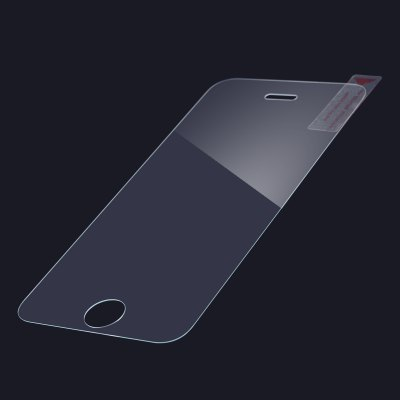 Фотография Ultrathin 0.3mm 9H Hardness Tempered Glass Screen Protector with Touch Pen for iPhone 5 5S