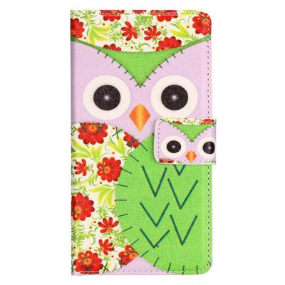 Гаджет   Stand Design Owl Pattern Protective Cover Case of PU and PC Material for LG G3 D850 Other Cases/Covers