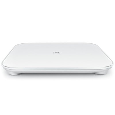 Original XiaoMi Bluetooth V4.0 Mi Smart Weight Scale by 4 x AA BatteryOther Consumer Electronics<br>Original XiaoMi Bluetooth V4.0 Mi Smart Weight Scale by 4 x AA Battery<br><br>Brand: XiaoMi<br>Color: White<br>Product weight: 1.900 kg<br>Package weight: 2.72 kg<br>Product size (L x W x H): 30 x 30 x 2.82 cm / 11.79 x 11.79 x 1.11 inches<br>Package size (L x W x H): 35 x 35 x 3.5 cm / 13.76 x 13.76 x 1.38 inches<br>Package Contents: 1 x Electronic Scale