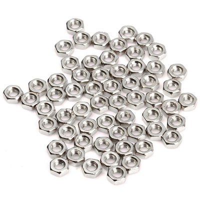 DIY M3 3mm Hexagon Nut  -  200PCSDIY Parts &amp; Components<br>DIY M3 3mm Hexagon Nut  -  200PCS<br><br>Type: Development board<br>Material: Iron<br>Product Weight: 0.065 kg<br>Package Weight: 0.107 kg<br>Product Size(L x W x H): 0.6 x 0.6 x 0.2 cm / 0.24 x 0.24 x 0.08 inches<br>Package Size(L x W x H): 9.0 x 6.0 x 1.0 cm / 3.54 x 2.36 x 0.39 inches<br>Package Contents: 200 x Nut