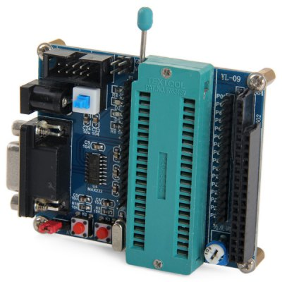 PCB + Plastic + Copper 51 MCU Mini Microcontroller Development Board