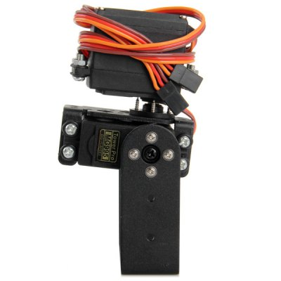 Фотография Plastic + Copper 2 Dof Pan + Tilt MG995 Steering Gear Joint for Fixed Wing Helicopter