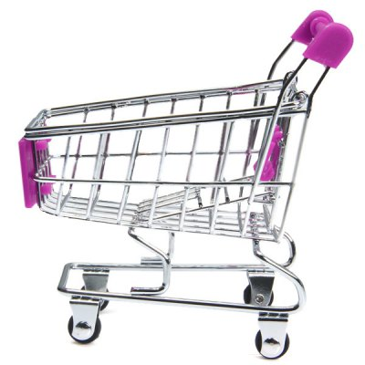 Гаджет   Little Scale Shopping Cart Simulating Trolley Toy for Children  -  12cm Height Puzzle & Educational