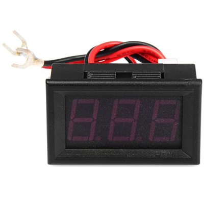 1.53 inch 3 Digit Red LED Digital Ammeter Module for DIY Projects ( DC 3 - 30V )