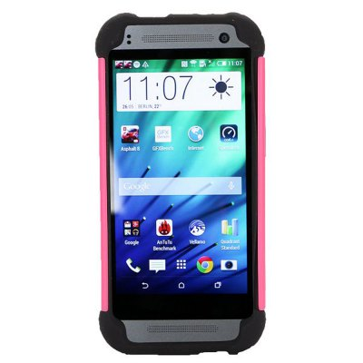 ФОТО Detachable TPU and PC Material Football Texture Protective Back Cover Case for HTC One M8 mini