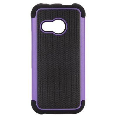 Фотография Detachable TPU and PC Material Football Texture Protective Back Cover Case for HTC One M8 mini