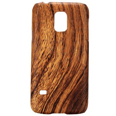 Wood Grain Pattern Back Cover Case of PC Material for Samsung Galaxy S5 mini SM - G800