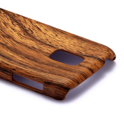 Фотография Wood Grain Pattern Back Cover Case of PC Material for Samsung Galaxy S5 mini SM - G800