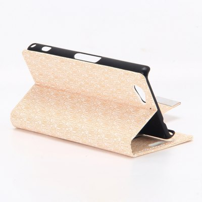 Фотография Stand Design Maze Pattern Protective Cover Case of PU and PC Material for Sony Xperia A2
