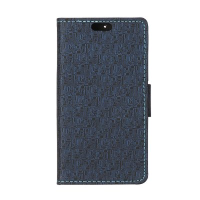 Stand Design Maze Pattern Protective Cover Case of PU and PC Material for Sony Xperia A2