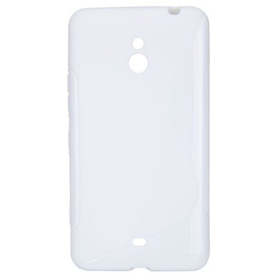TPU Material Ultrathin Back Cover Case for Nokia Lumia 1320