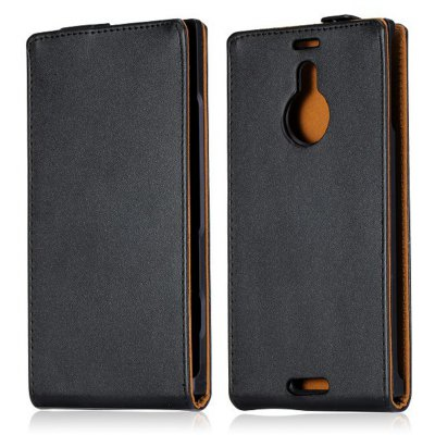 Solid Color Style Vertical Flip Cover Case of PU and PC Material for Nokia Lumia 1520