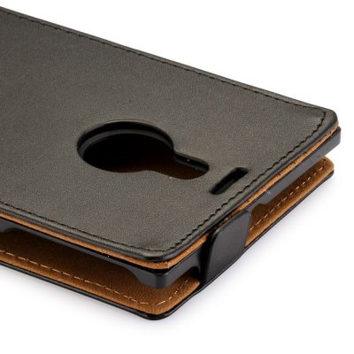 Фотография Solid Color Style Vertical Flip Cover Case of PU and PC Material for Nokia Lumia 1520