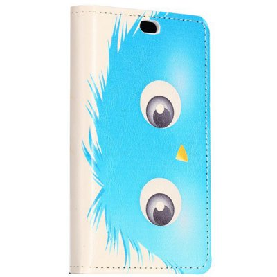 ФОТО Stand Design Blue Cartoon Ball Pattern Protective Cover Case of PU and PC Material for Nokia X