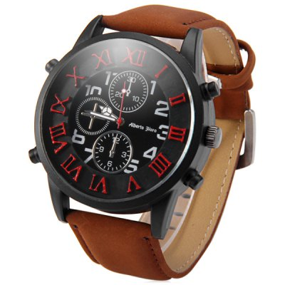 Shiweibao A1164 - 1 Dual Scale Decorative Sub - dials Male Quartz WatchMens Watches<br>Shiweibao A1164 - 1 Dual Scale Decorative Sub - dials Male Quartz Watch<br><br>Brand: Shiweibao<br>Watches categories: Male table<br>Watch style: Fashion<br>Available color: Black, White<br>Movement type: Quartz watch<br>Shape of the dial: Round<br>Display type: Analog<br>Case material: Stainless steel<br>Band material: Leather<br>Clasp type: Pin buckle<br>Special features: Decorating small sub-dials<br>The dial thickness: 1.3 cm / 0.51 inches<br>The dial diameter: 5.1 cm / 2.00 inches<br>The band width: 2.4 cm / 0.94 inches<br>Product weight: 0.064 kg<br>Package weight: 0.114 kg<br>Product size (L x W x H): 26.8 x 4.9 x 1.3 cm / 10.53 x 1.93 x 0.51 inches<br>Package size (L x W x H): 27.8 x 5.9 x 2.3 cm / 10.93 x 2.32 x 0.90 inches<br>Package Contents: 1 x Shiweibao A1164-1 Watch