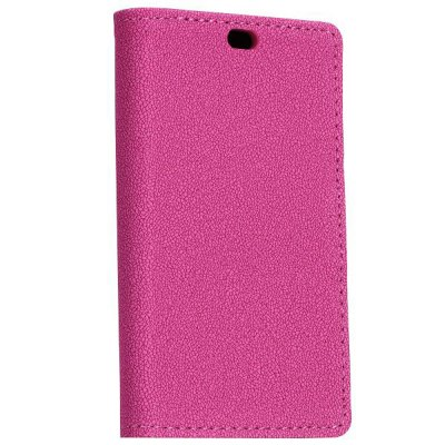 ФОТО Stand Design Gravel Pattern Protective Cover Case of PU and PC Material for Nokia X