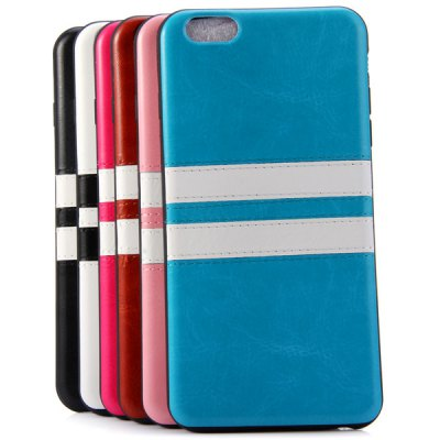 Фотография Practical TPU Material Contrast Color Stripe Design Back Cover Case for iPhone 6 Plus  -  5.5 inch