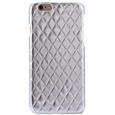 Фотография Practical PC and PU Material Rhombus Grid Pattern Back Cover Case for iPhone 6  -  4.7 inch