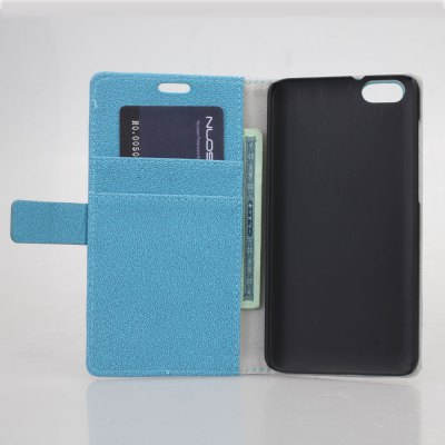Фотография Practical PU and PC Material Gravel Pattern Card Holder Cover Case for Huawei Honor 4X