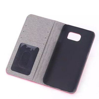 Фотография PU and PC Material Contrast Color Phone Protective Cover Case for Samsung Galaxy S6 G9200