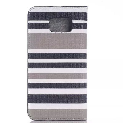 ФОТО PU and PC Material Contrast Color Phone Protective Cover Case for Samsung Galaxy S6 G9200