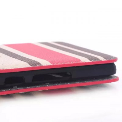 Фотография PU and PC Material Contrast Color Phone Protective Cover Case for HTC One M9