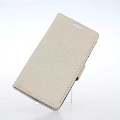 Фотография Stand Design Cloth Texture Style Protective Cover Case of PU and PC Material for LG L Fino D295
