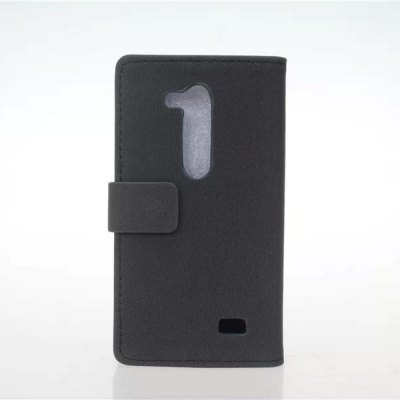 Practical PU and PC Material Gravel Pattern Card Holder Cover Case for LG L Fino D295
