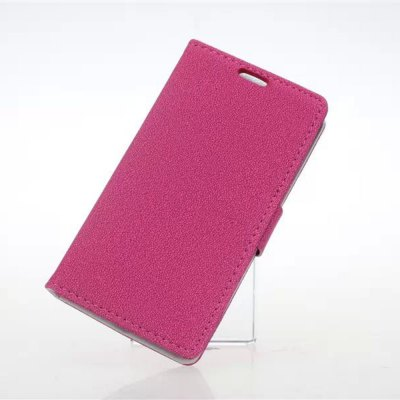 Фотография Practical PU and PC Material Gravel Pattern Card Holder Cover Case for LG L Fino D295