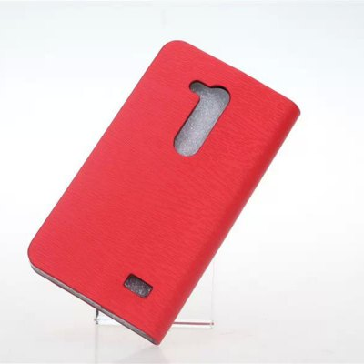 Фотография Practical PU and PC Material Wood Grain Pattern Card Holder Cover Case for LG L Fino D295