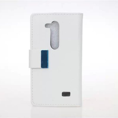 Гаджет   Stand Design Built - in Card Holder Protective Cover Case of PU and PC Material for LG L Fino D295 Other Cases/Covers