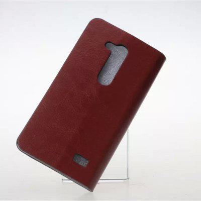 Фотография Practical PU and PC Material Crystal Grain Card Holder Cover Case for LG L Fino D295
