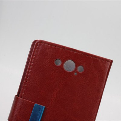 Фотография Practical PU and PC Material Crazy Horse Pattern Card Holder Cover Case for Motorola Moto Maxx XT1225