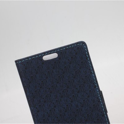 Фотография Maze Pattern PU and PC Material Card Holder Cover Case with Stand for Motorola Moto Maxx XT1225