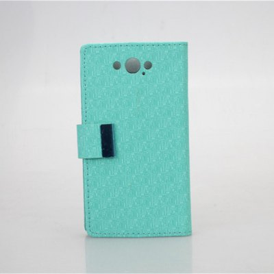 Maze Pattern PU and PC Material Card Holder Cover Case with Stand for Motorola Moto Maxx XT1225