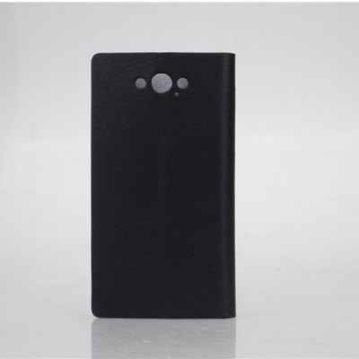 Wood Grain Pattern PU and PC Material Card Holder Cover Case with Stand for Motorola Moto Maxx XT1225