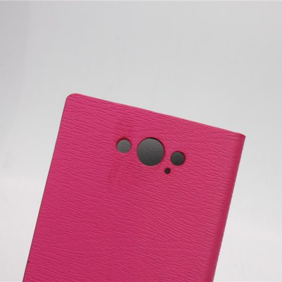 Фотография Wood Grain Pattern PU and PC Material Card Holder Cover Case with Stand for Motorola Moto Maxx XT1225