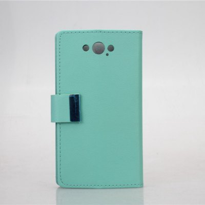 PU and PC Material Card Holder Cover Case with Stand for Motorola Moto Maxx XT1225