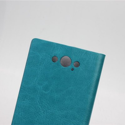 Фотография Crystal Grain Pattern PU and PC Material Card Holder Cover Case with Stand for Motorola Moto Maxx XT1225