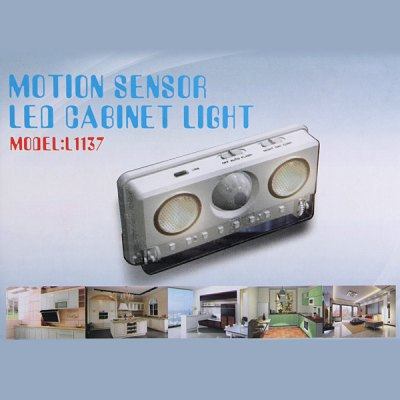 L1137 LED Cabinet Light Motion Sensor Lamp with Energy Saving Function