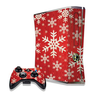 Snowflake Figure Pattern Game Consoles Handle Stickers for Xbox 360S