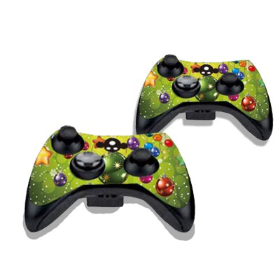 Фотография Christmas Figure Pattern Game Consoles Handle Stickers for Xbox 360S